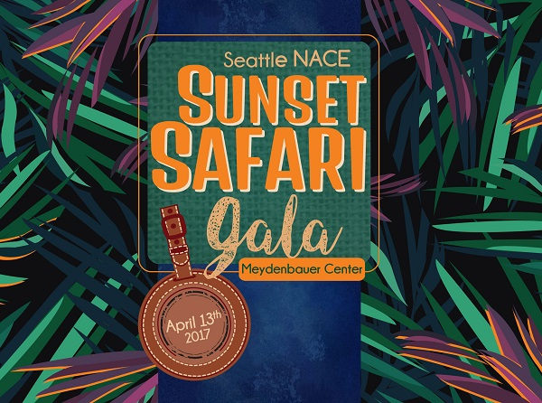 Sunset Safari, NACE Gala, April 2017