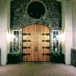 Doors at Terra Blanca Winery Wedding