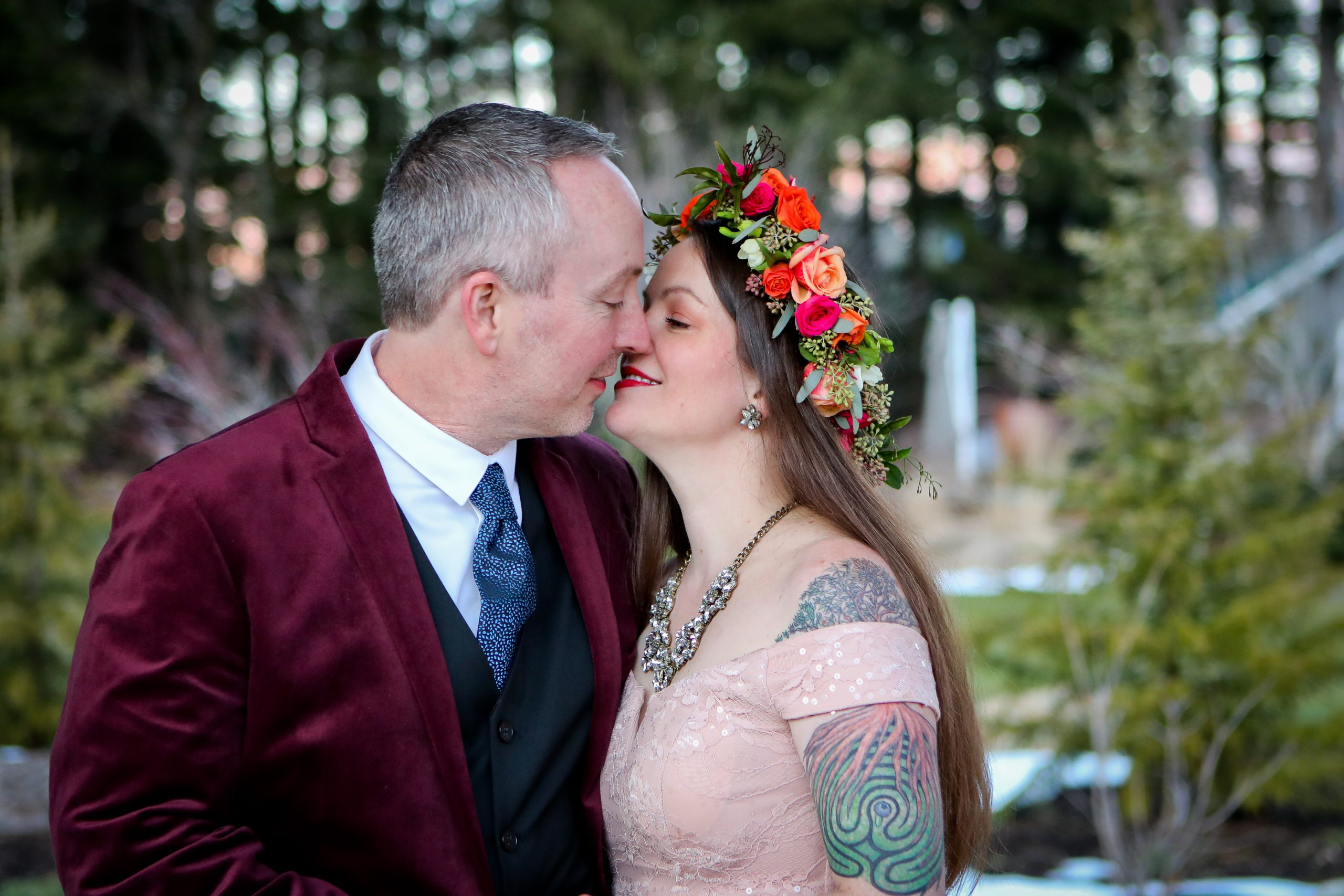 Love & Grief, and the Art of Winter Weddings